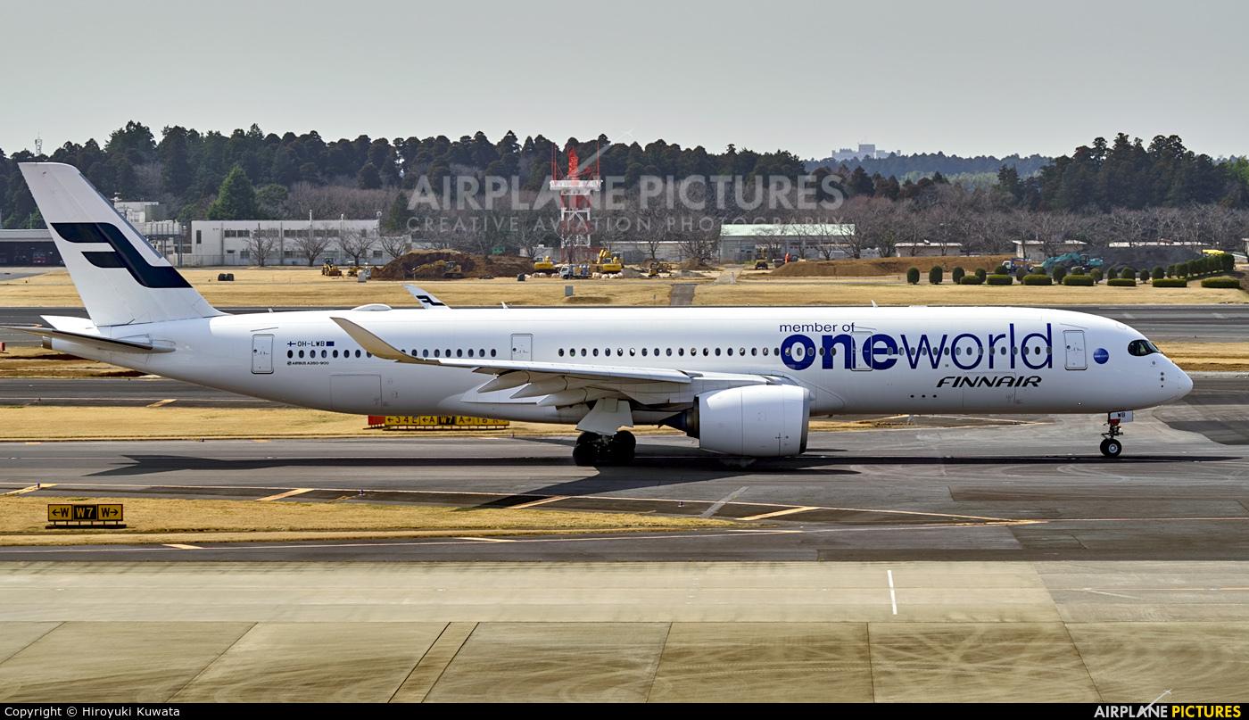 Finnair OH-LWB aircraft at Tokyo - Narita Intl