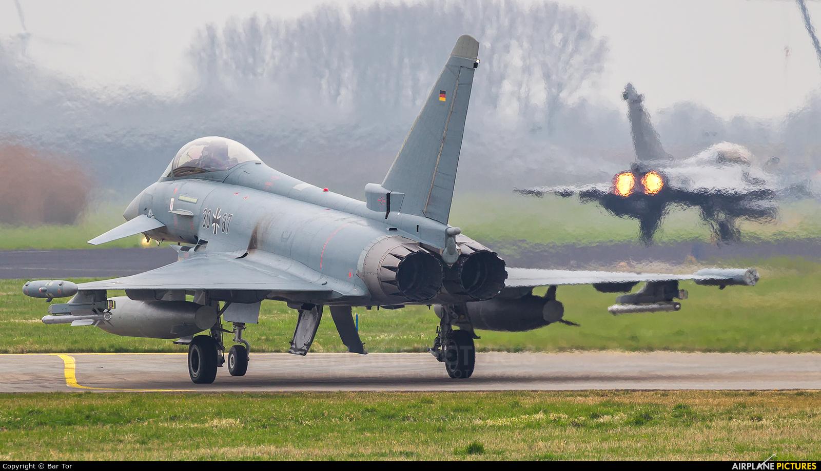 Germany - Air Force 30+87 aircraft at Leeuwarden