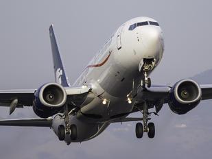 N861AM - Aeromexico Boeing 737-800