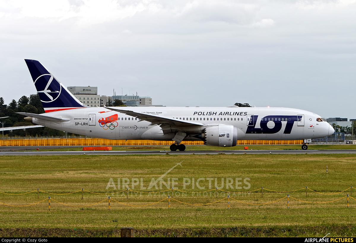 LOT - Polish Airlines SP-LRH aircraft at Tokyo - Narita Intl