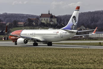 EI-FVR - Norwegian Air Shuttle Boeing 737-800