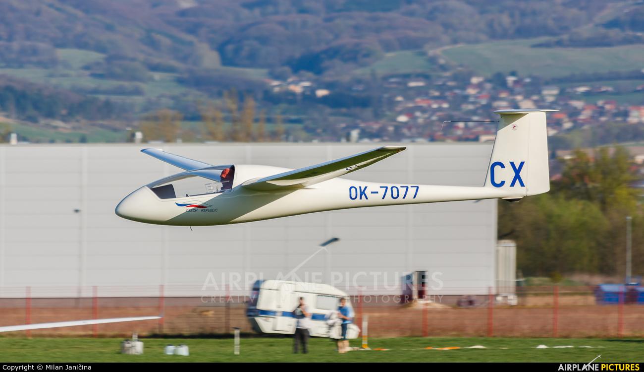 Private OK-7077 aircraft at Prievidza