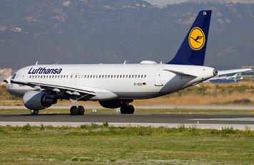 D-AIZA - Lufthansa Airbus A320