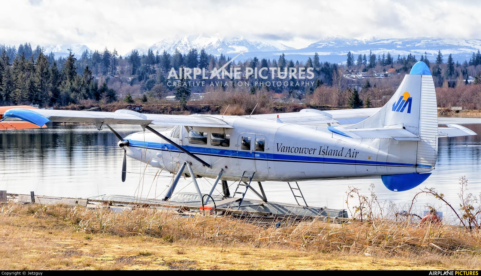 Vancouver Island Air C-GVIX aircraft at Campbell River Seaplane Base