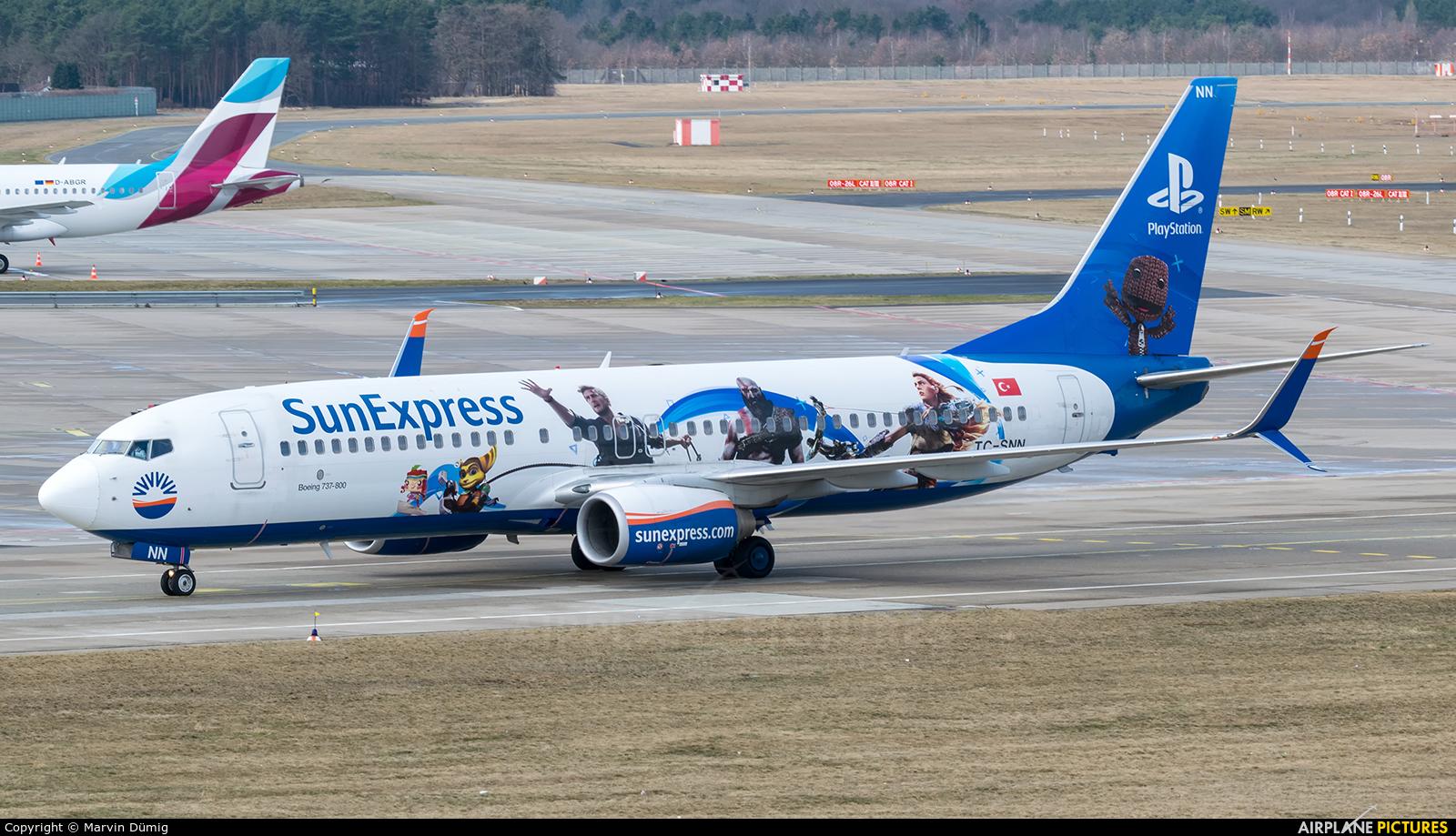SunExpress TC-SNN aircraft at Berlin - Tegel