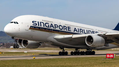 9V-SKG - Singapore Airlines Airbus A380