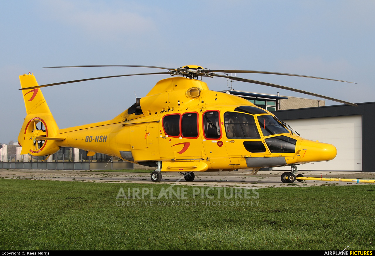 Helicopters NZ OO-NSH aircraft at Middelburg - Midden Zeeland