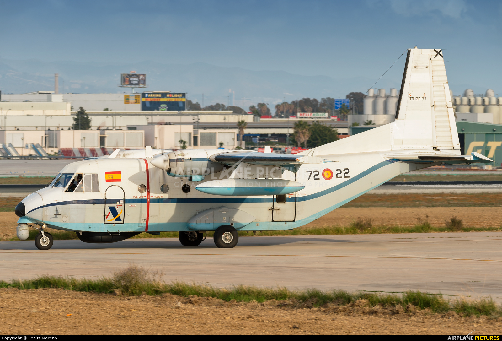 Spain - Air Force TR.12D-77 aircraft at Málaga