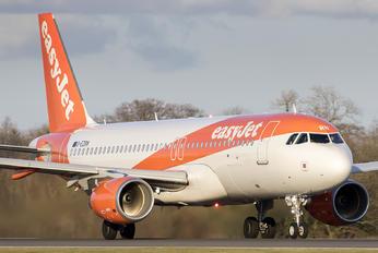 G-EZRN - easyJet Airbus A320