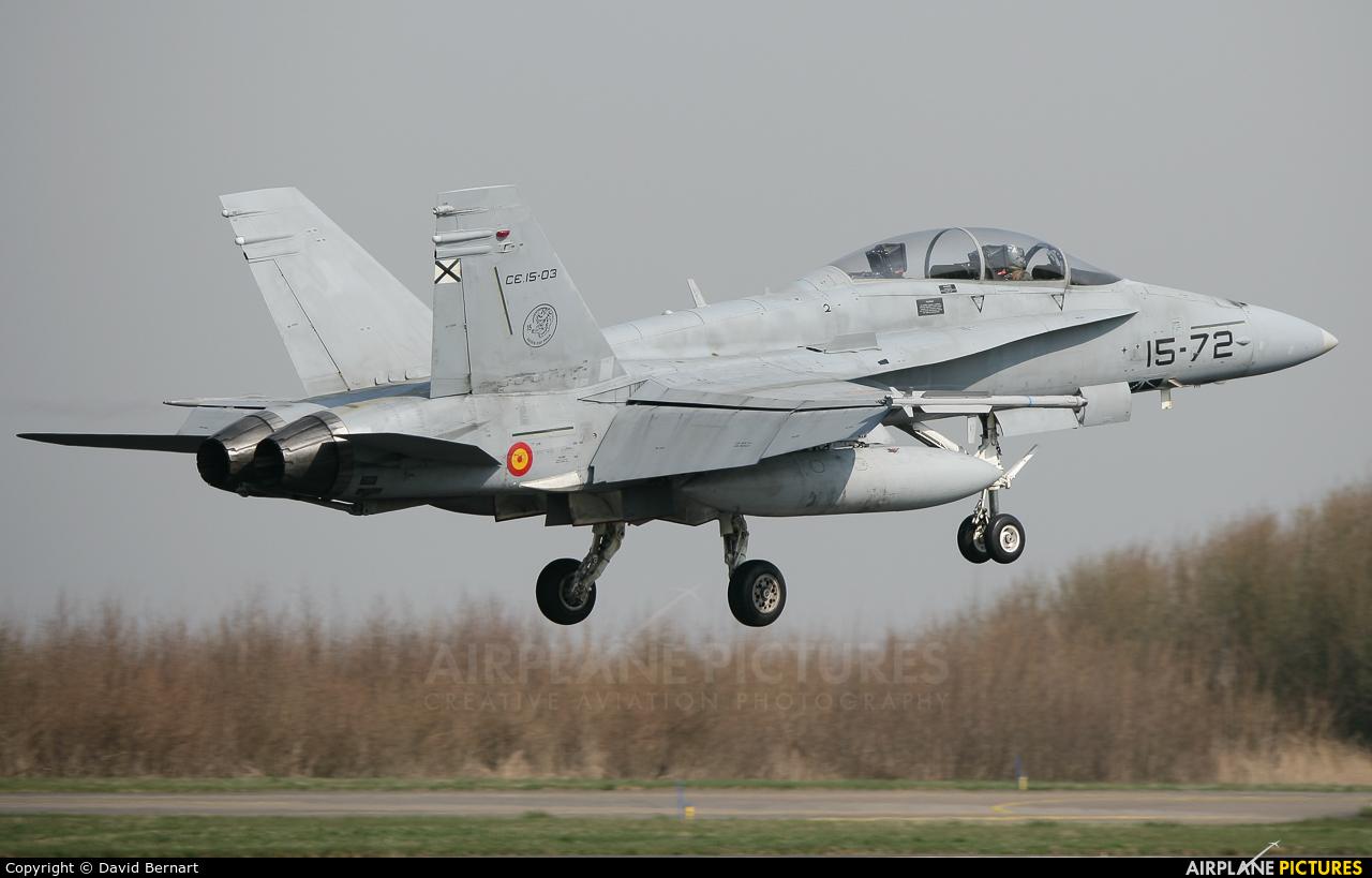 Spain - Air Force C.15-72 aircraft at Leeuwarden