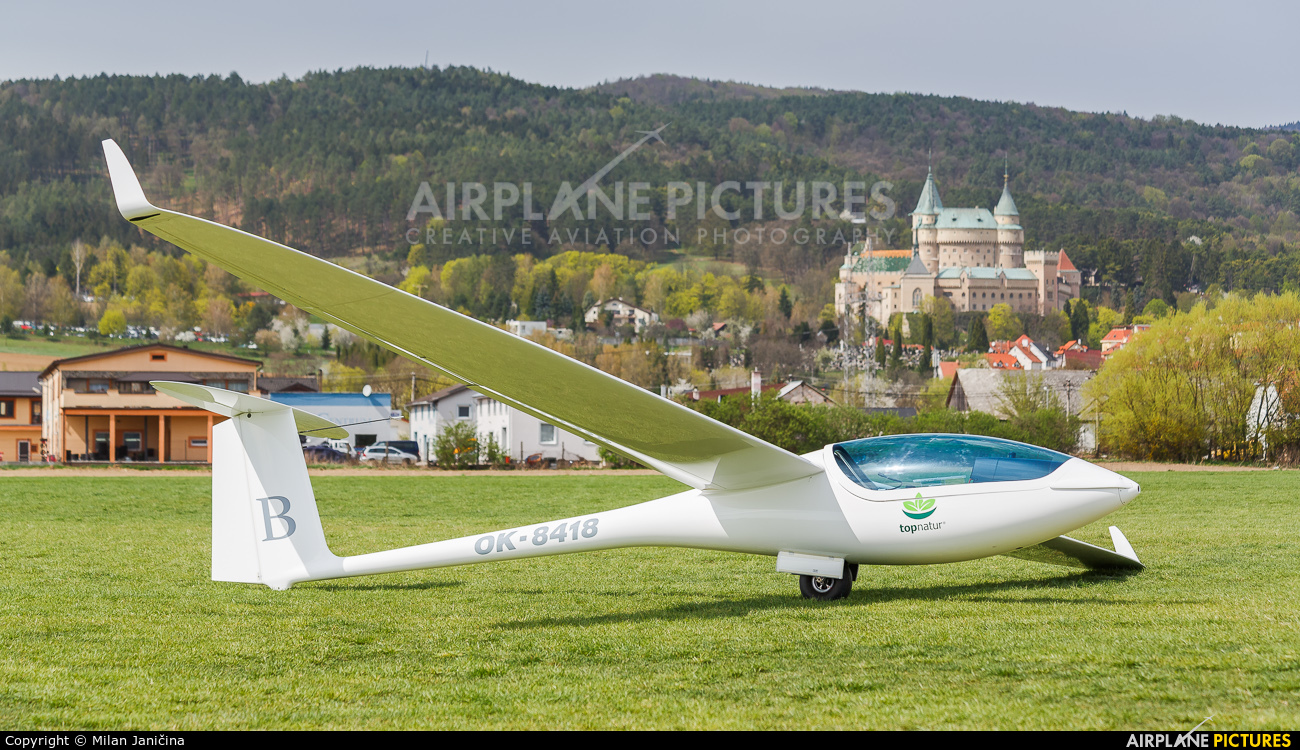 Private OK-8418 aircraft at Prievidza