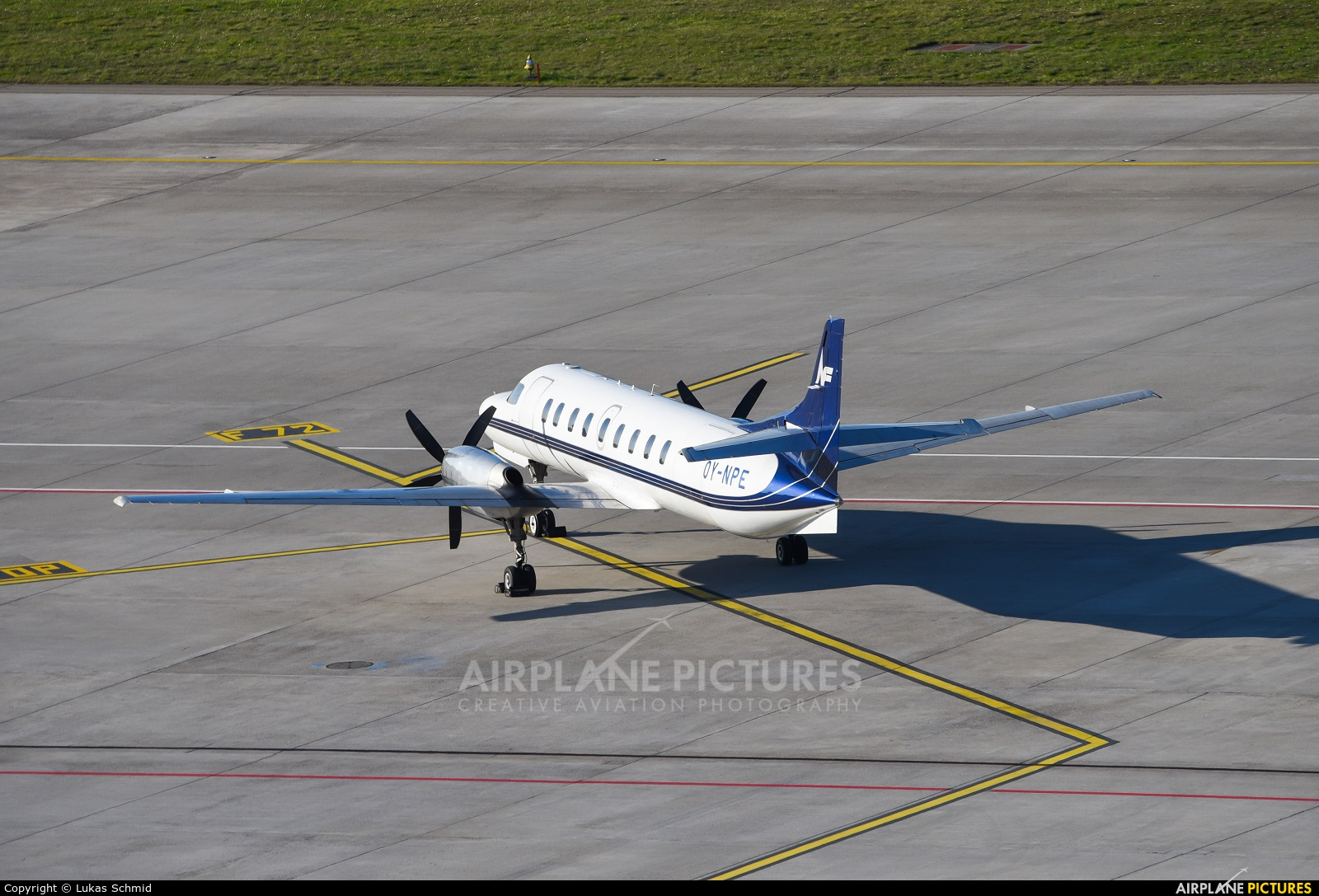 North Flying OY-NPE aircraft at Zurich