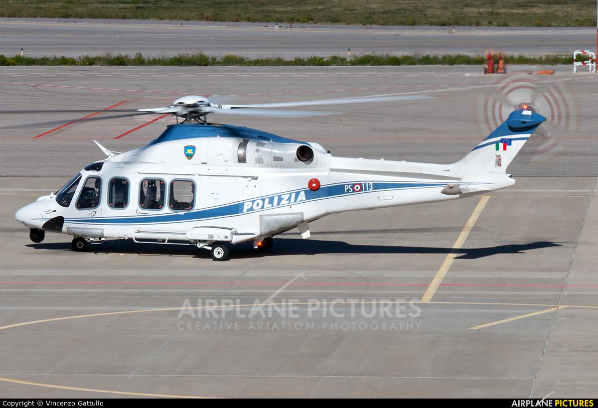Italy - Police MM81817 aircraft at Bari