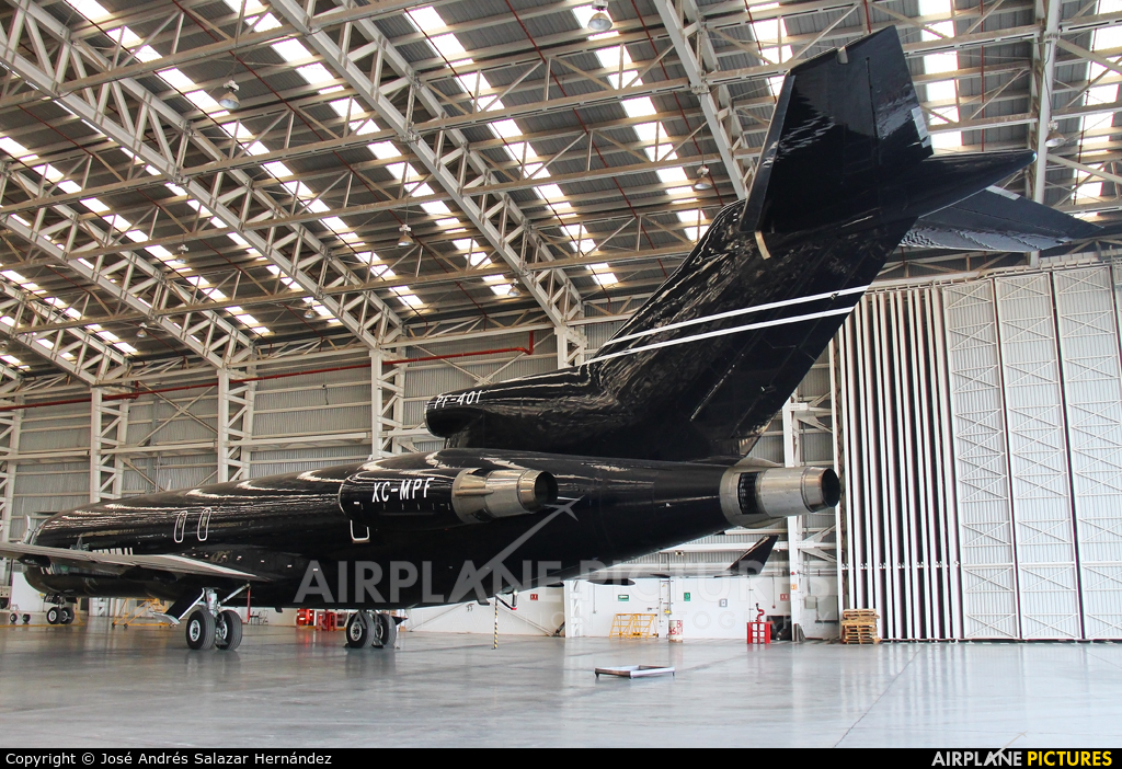 Mexico - Police XC-MPF aircraft at Mexico City - Licenciado Benito Juarez Intl