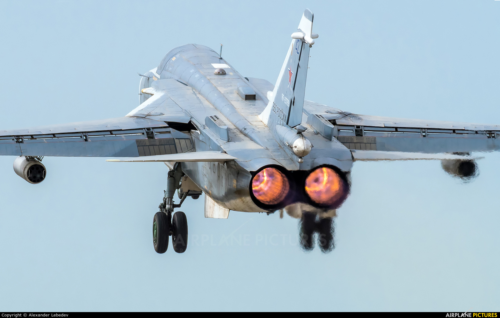 Russia - Air Force 42 aircraft at Undisclosed location