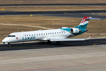 S5-AAZ - Luxair Bombardier CRJ-700