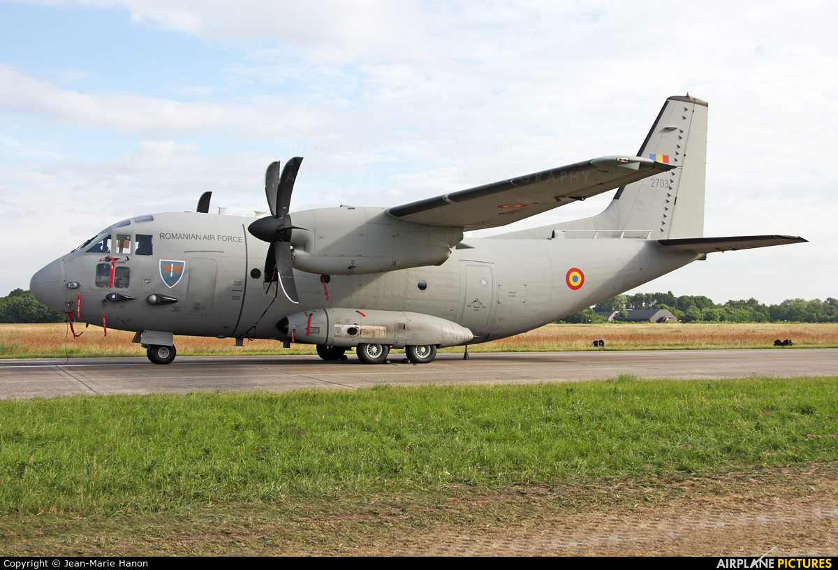Romania - Air Force 2703 aircraft at Uden - Volkel