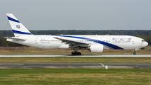 Rare visit of El Al B772 to Katowice title=