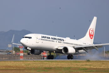 JA307J - JAL - Japan Airlines Boeing 737-800