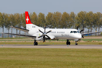 HB-IZB - Sky Work Airlines SAAB 2000