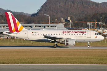 D-AKNL - Germanwings Airbus A319