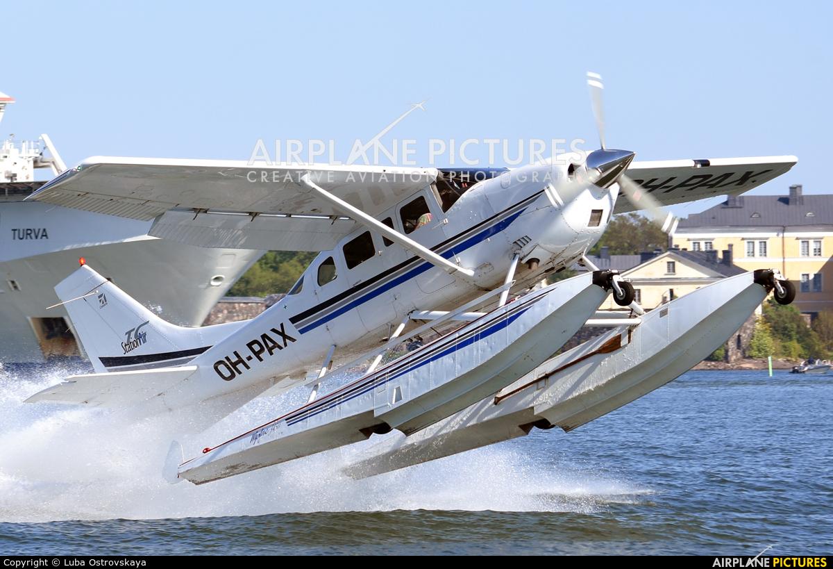 Private OH-PAX aircraft at Helsinki