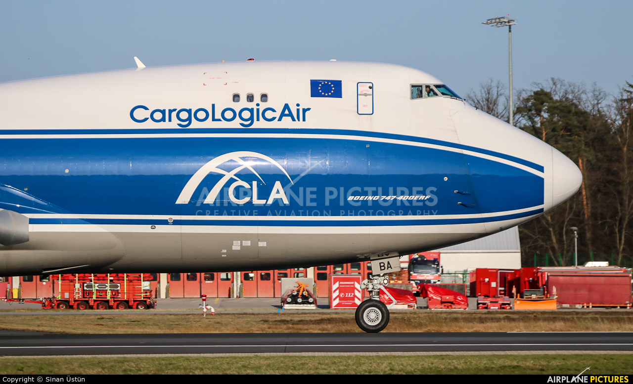 Cargologicair G-CLBA aircraft at Frankfurt