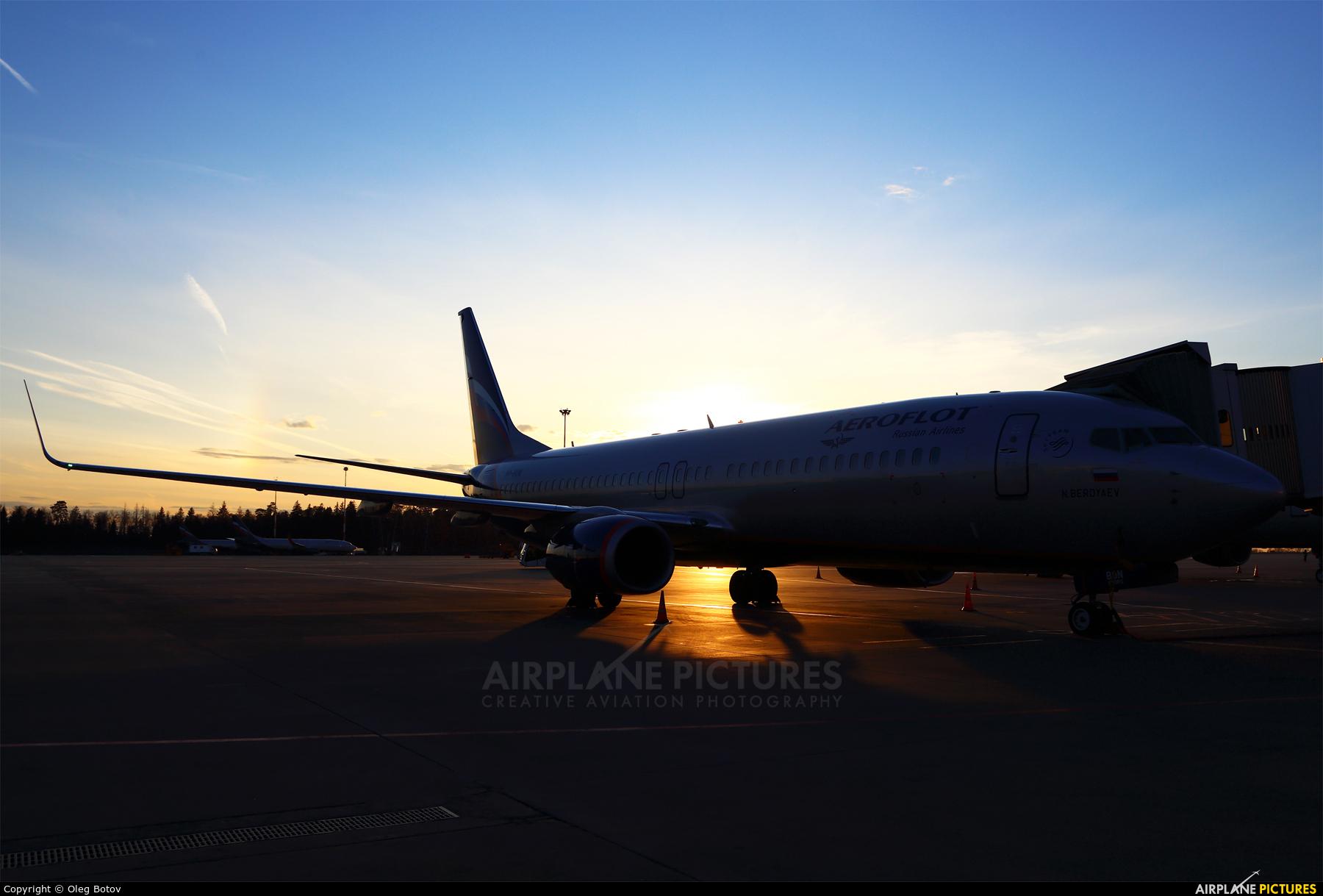 Aeroflot VP-BON aircraft at Moscow - Sheremetyevo