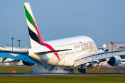 A6-EEG - Emirates Airlines Airbus A380 aircraft