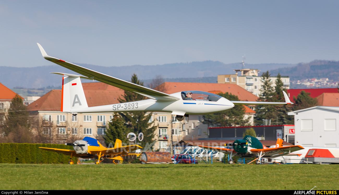 Private SP-3893 aircraft at Prievidza