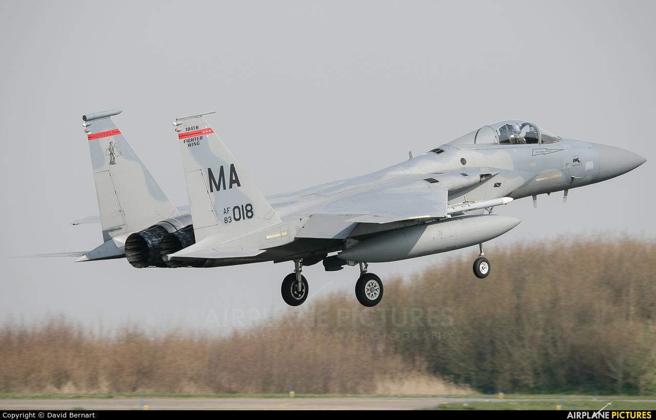 USA - Air Force 83-0018 aircraft at Leeuwarden