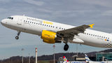 Vueling Airlines Airbus A320 EC-KDX at Zurich airport