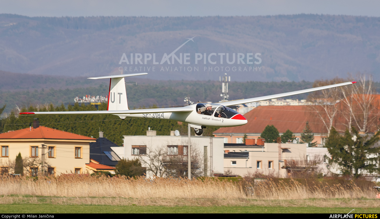 Private SP-3184 aircraft at Prievidza