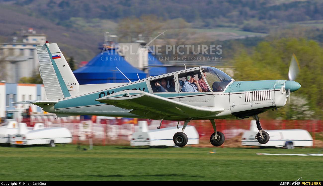 Aeroklub Trnava OM-EOV aircraft at Prievidza