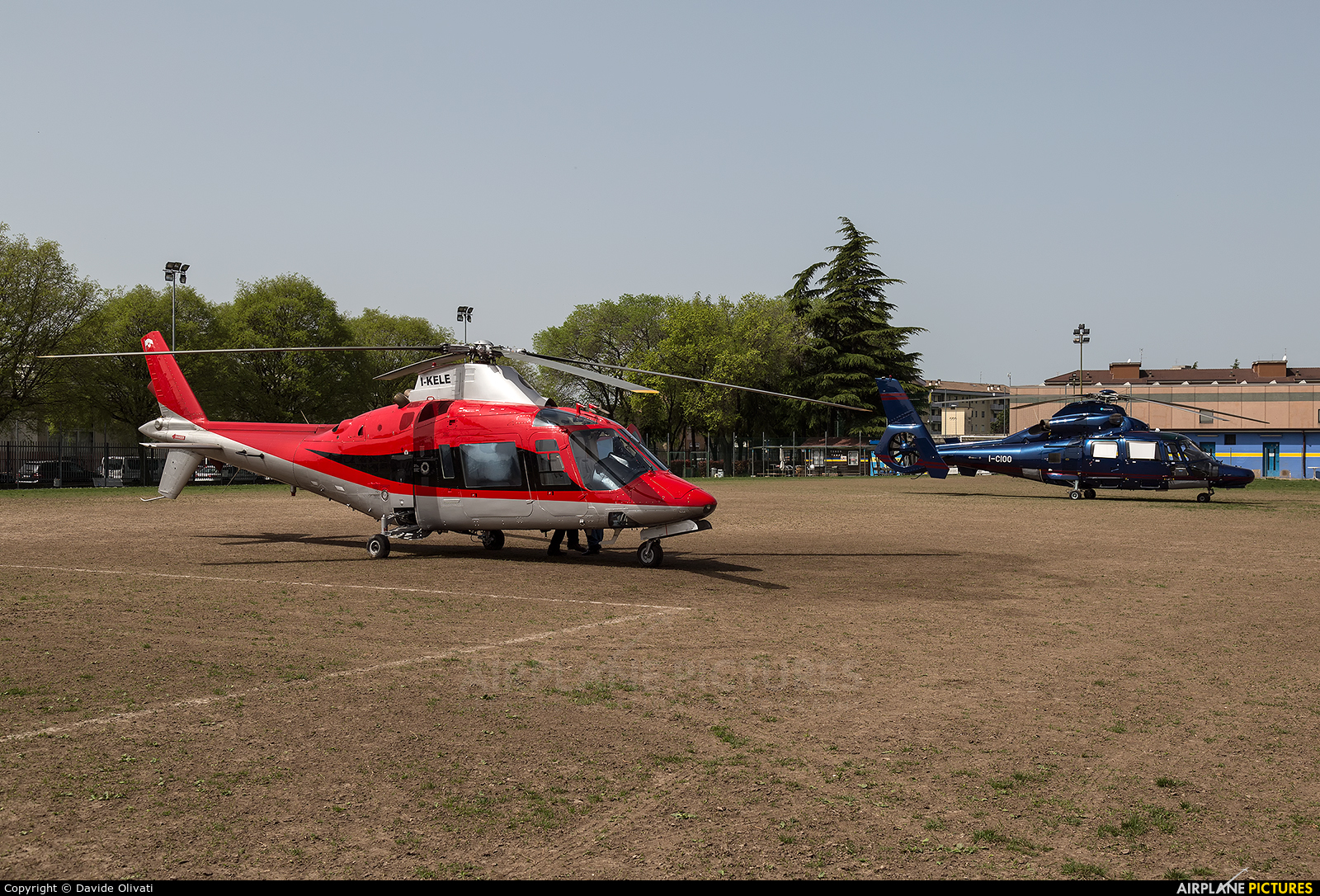 Private I-KELE aircraft at Off Airport - Italy
