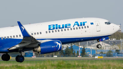 YR-BMK - Blue Air Boeing 737-800