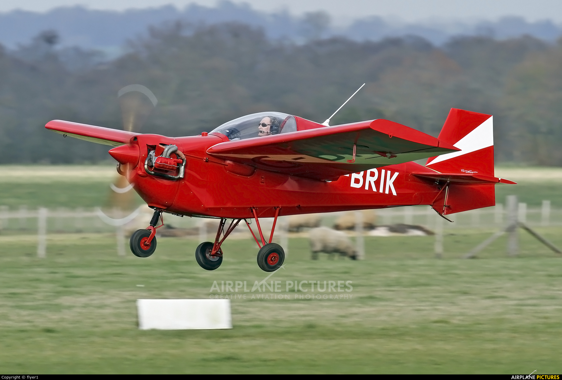 Private G-BRIK aircraft at Lashenden / Headcorn
