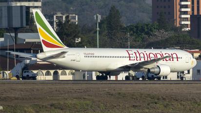 ET-AMF - Ethiopian Airlines Boeing 767-300ER