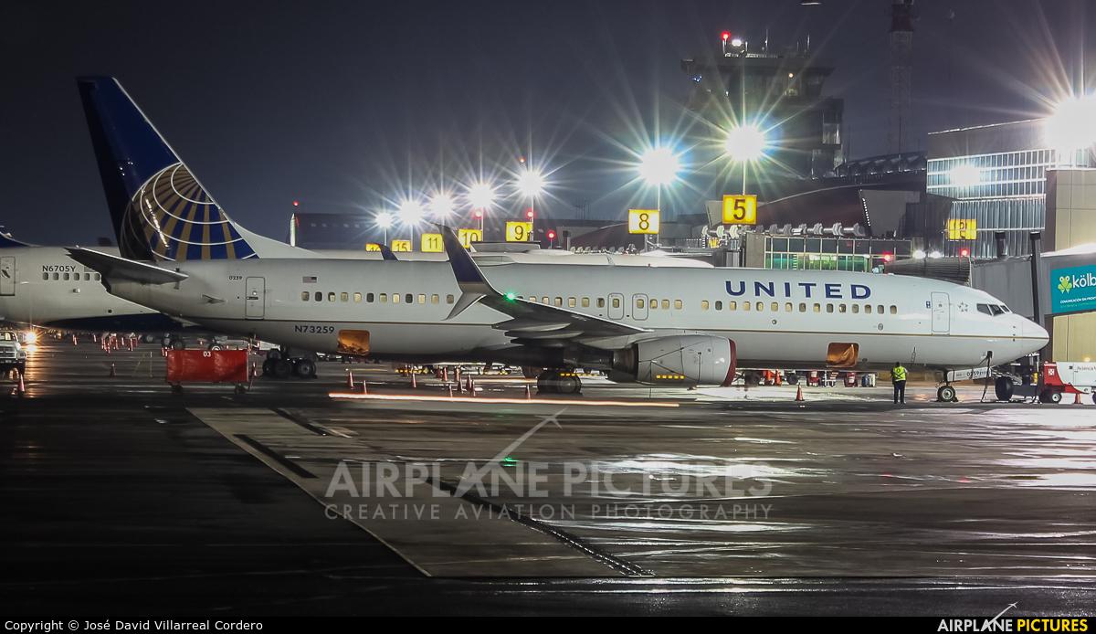 United Airlines N73259 aircraft at San Jose - Juan Santamaría Intl