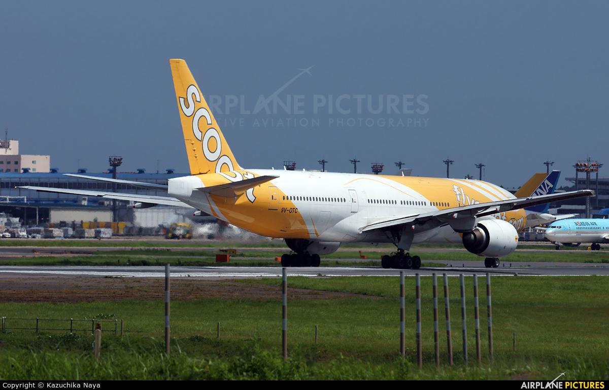 Scoot 9V-OTC aircraft at Tokyo - Narita Intl