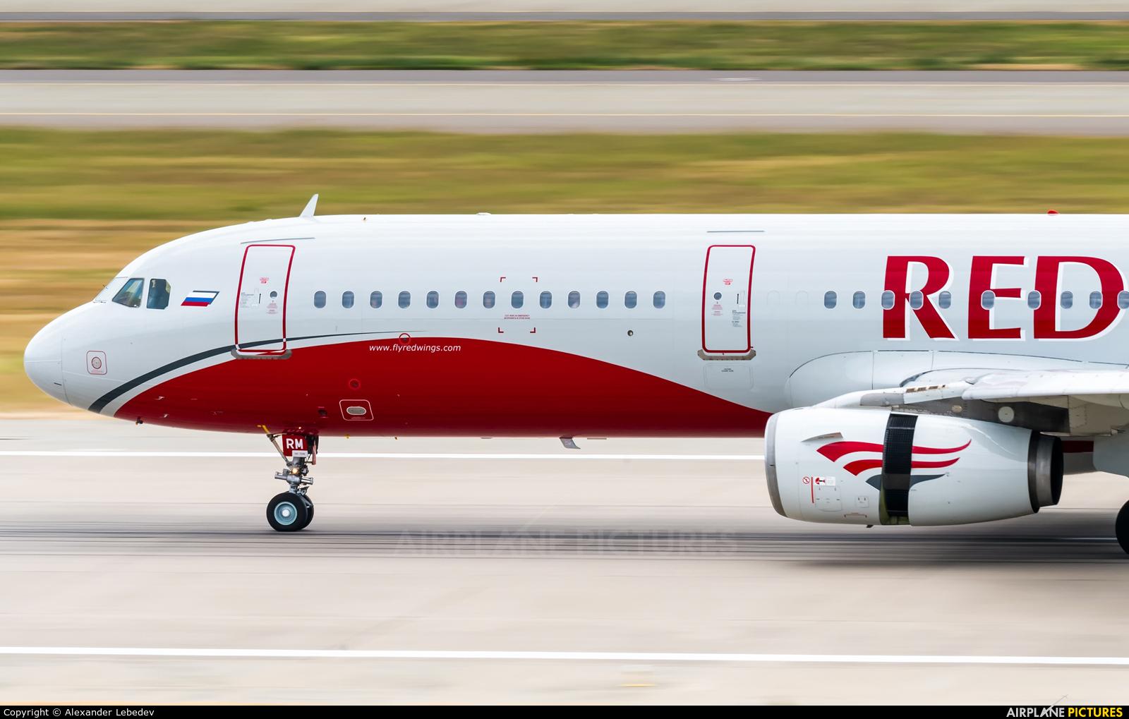 Red Wings VP-BRM aircraft at Sochi Intl