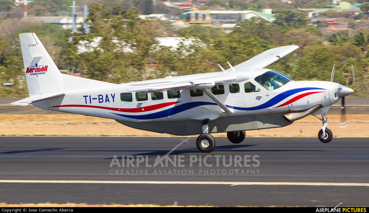 Aerobell Air Charter  TI-BAY aircraft at San Jose - Juan Santamaría Intl