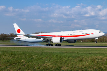 N509BJ - Japan - Air Self Defence Force Boeing 777-300ER