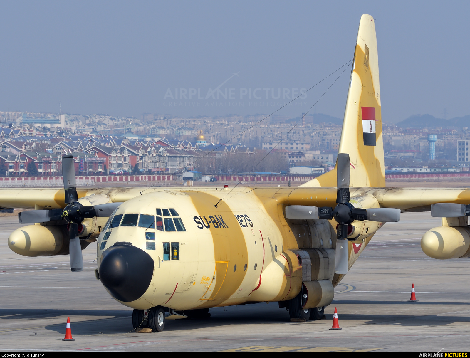 Egypt - Air Force 1279 aircraft at Dalian Zhoushuizi Int'l