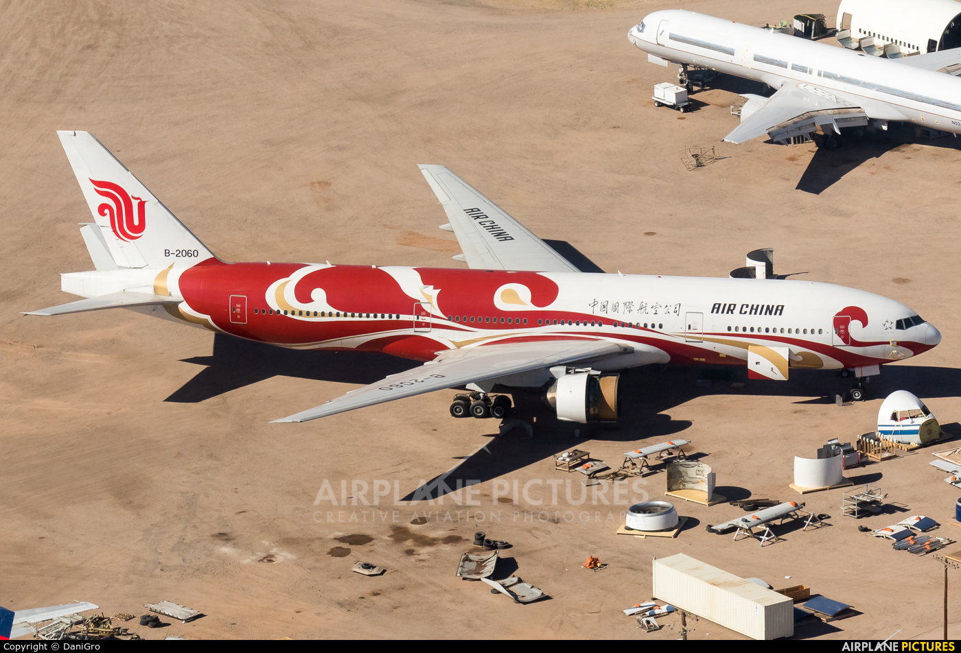 Air China B-2060 aircraft at Marana/Pinal Air Park