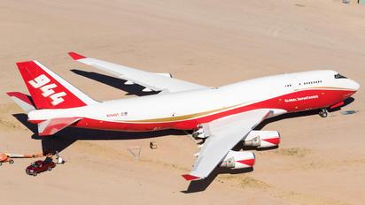 N744ST - Global SuperTanker Services Boeing 747-400BCF, SF, BDSF