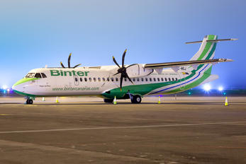EC-MSJ - Binter Canarias ATR 72 (all models)