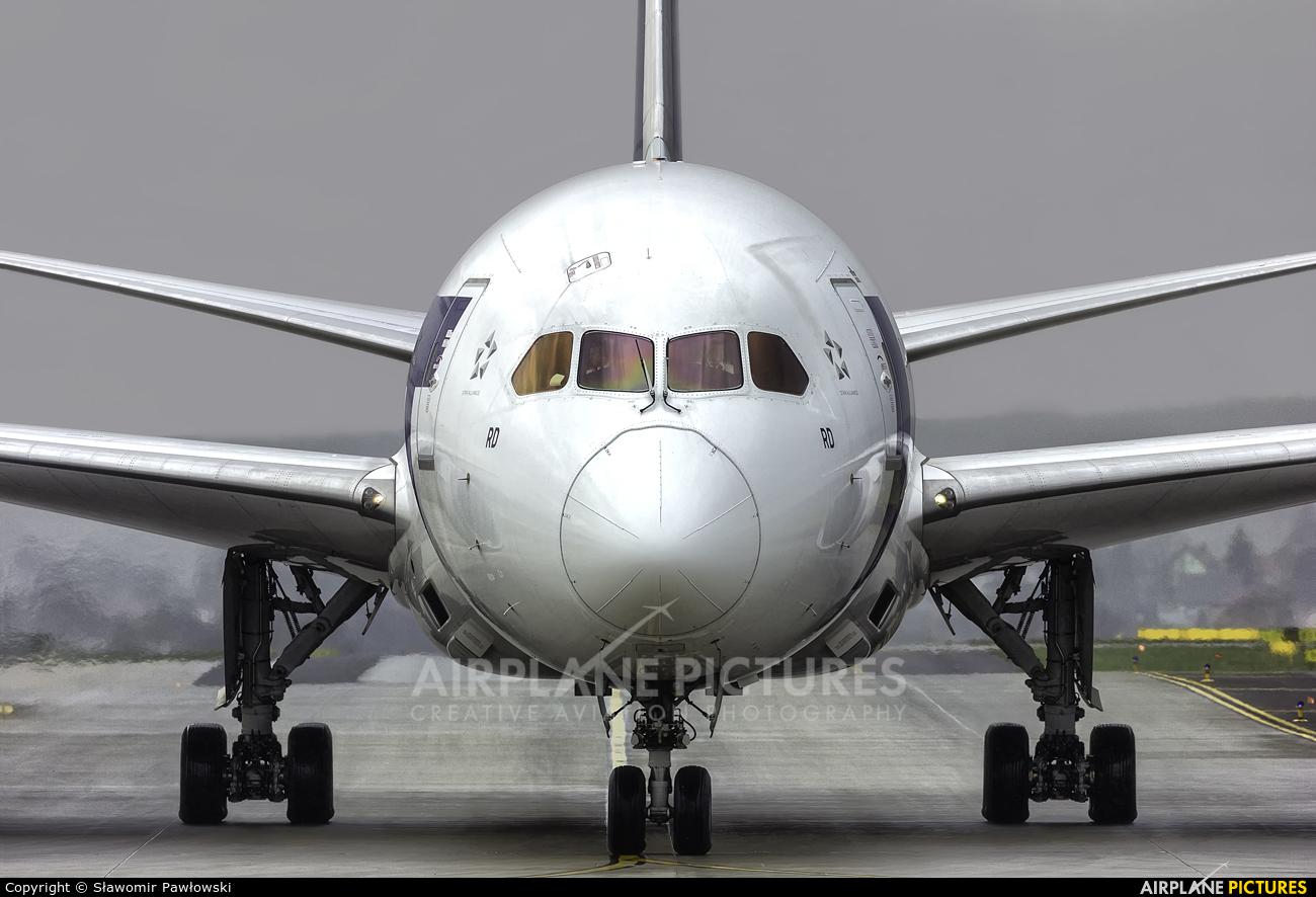 LOT - Polish Airlines SP-LRD aircraft at Kraków - John Paul II Intl
