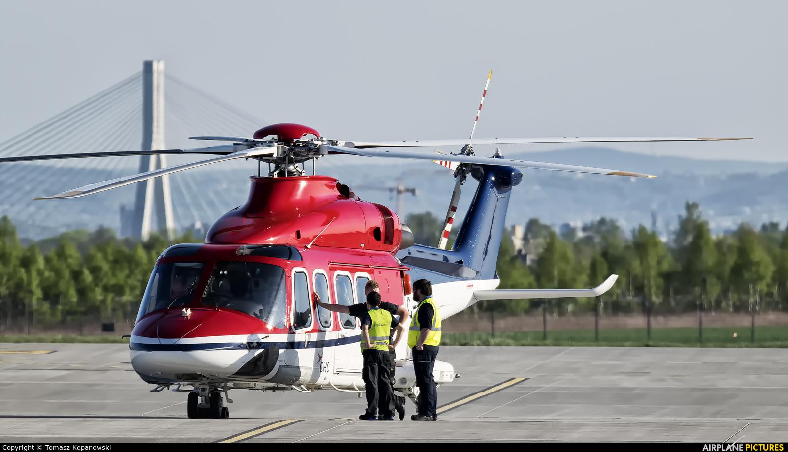 Canadian Helicopters C-FNFZ aircraft at Rzeszów-Jasionka