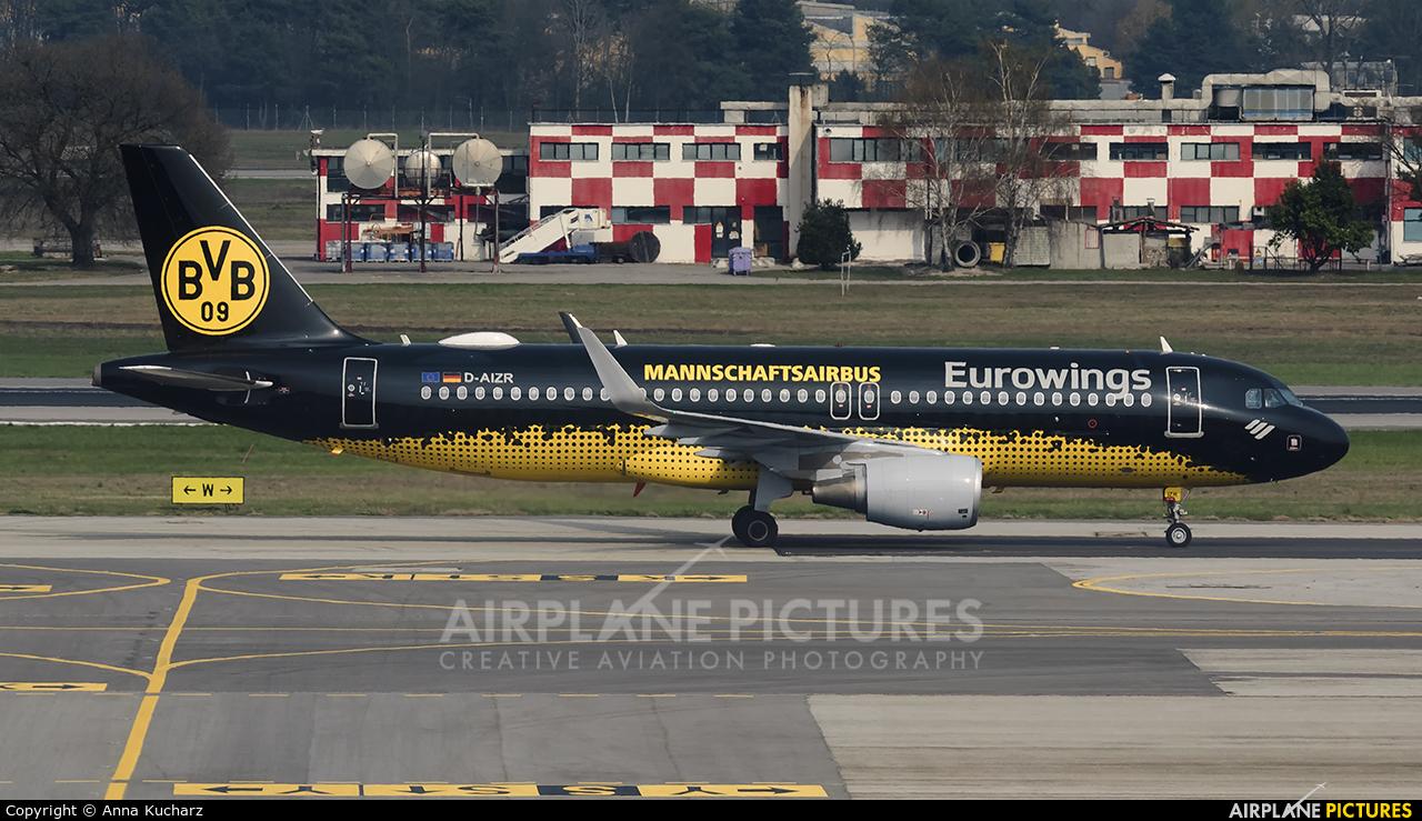 Eurowings D-AIZR aircraft at Milan - Malpensa